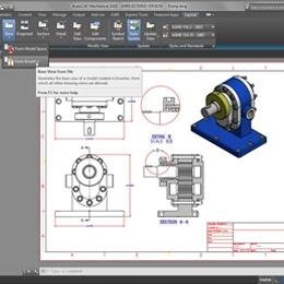 为 3D CAD 制作图面